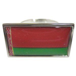 Belarus Flag Fashion Ring